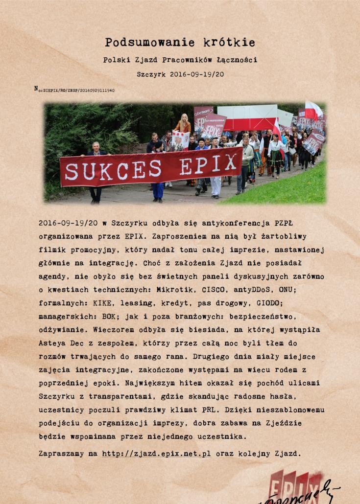 2016-09-epix-zjazd-podsumowanie-krotkie